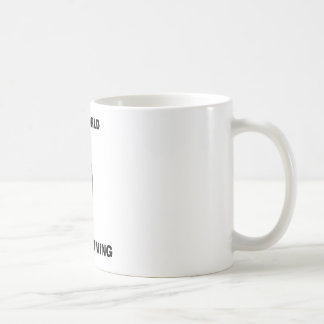 Save the World Basic White Mug
