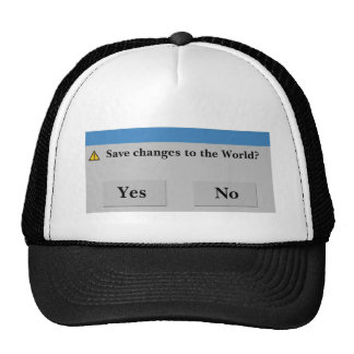 Save the World Hat