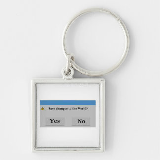 Save the World Keychain