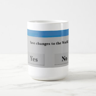 Save the World Mug