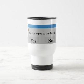 Save the World Travel Mug