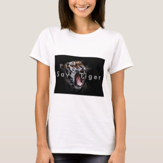 Save Tiger save earth T-Shirt