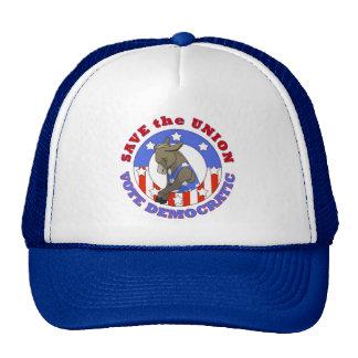 Save Union Vote DEM Hat