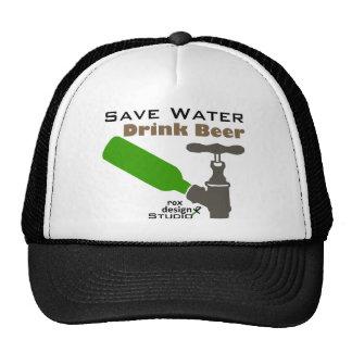 Save Water Drink Beer Cap