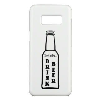 Save Water Drink Beer Samsung Galaxy S8 Case