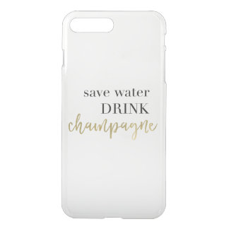 Save Water Drink Champagne iPhone Case
