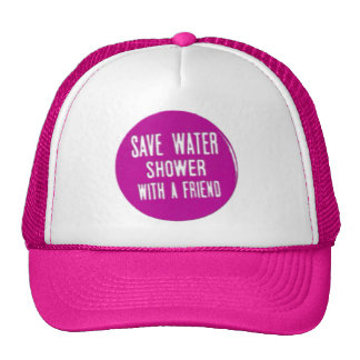 save water mesh hats