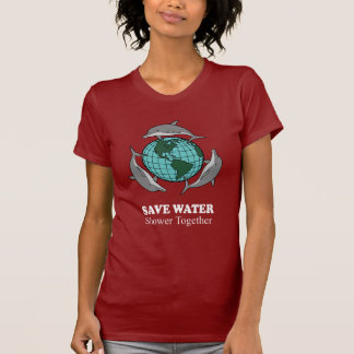 SAVE WATER SHOWER TOGETHER TSHIRTS