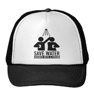 Save Water Shower With A Friend Cap