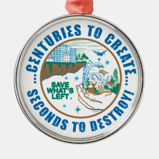 Save What's Left... Christmas Ornament