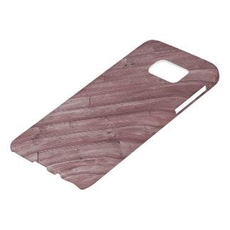 Save Wooden design Samsung case