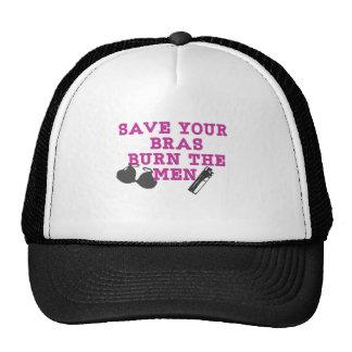 Save Your Bras Remix Design Hat