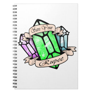 Save Your Rupee Spiral Notebook