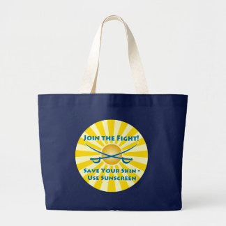 Save your Skin! Tote Bags