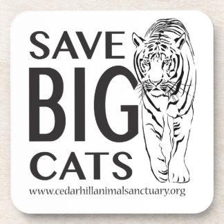 SaveBigcats Coaster