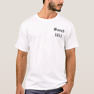 Saved 1611 - Original Black T-Shirt