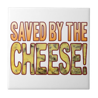 Saved By Blue Cheese Small Square Tile
