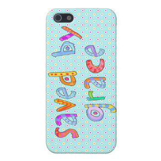 Saved By Grace Cute Christian Artsy Polkadots Case For The iPhone 5