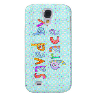 Saved By Grace Cute Christian Artsy Polkadots Samsung Galaxy S4 Cases