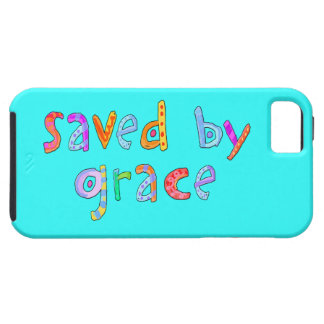 Saved By Grace Fun and Funky Christian iPhone 5 Covers
