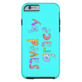 Saved By Grace Fun and Funky Christian Tough iPhone 6 Case
