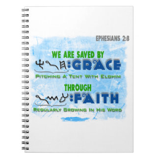Saved By Grace Through Faith Note Books