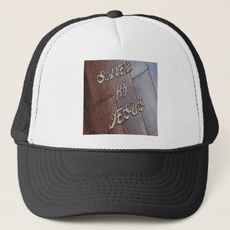Saved By Jesus 4 Trucker Hat