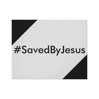 saved by Jesus Canvas Prints