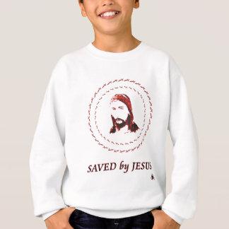 saved by jesus sweatshirt