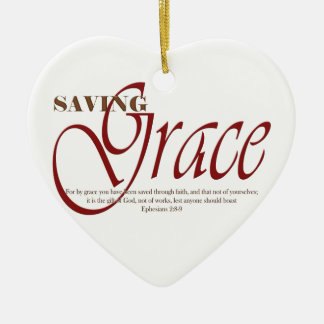Saving Grace Ceramic Ornament