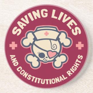 Saving Lives & Rights Coaster