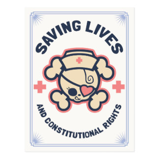 Saving Lives & Rights Postcard