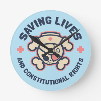 Saving Lives & Rights Round Clock