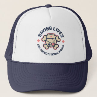 Saving Lives & Rights Trucker Hat