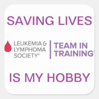 Saving Lives Sticker
