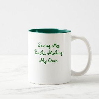 Saving My Bucks, Making My Own Coffee Mugs
