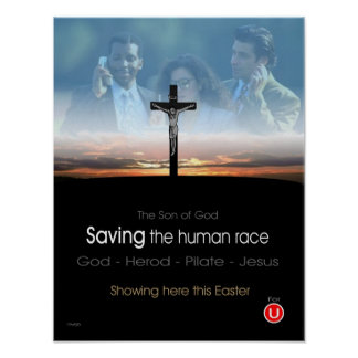 Saving the Human Race Poster