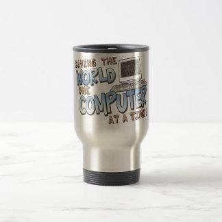 Saving theWorld Stainless Steel Travel Mug