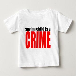 SAVINGCHILDISACRIME harambe killed killing childre Baby T-Shirt