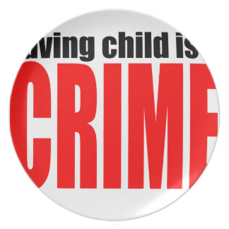 SAVINGCHILDISACRIME harambe killed killing childre Plates