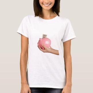 Savings in piggy bank T-Shirt