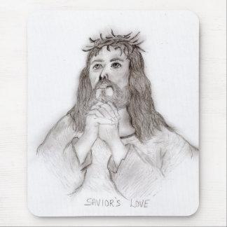 Savior's Love Mouse Pad