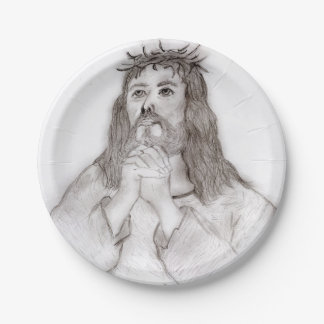Savior's Love Paper Plate