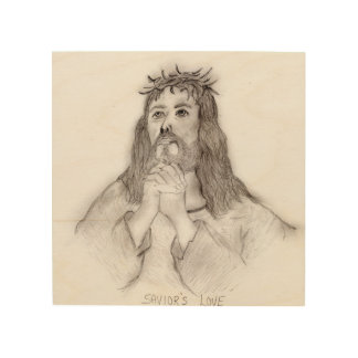 Savior's Love Wood Wall Art