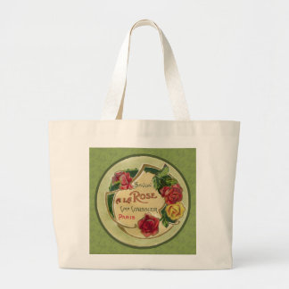 Savon a la Rose (Rose scented soap) Large Tote Bag