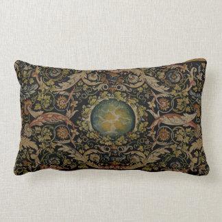 Savonnerie Carpet 1 (Full Colour) Lumbar Pillow
