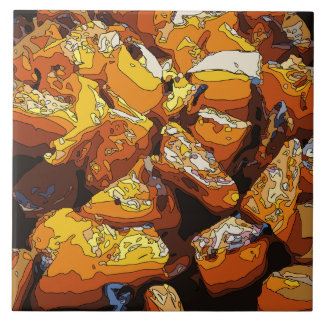 Savory Baked Sweet Potatoes and Raisins Tile