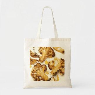 Savory Broccoli and Cauliflower Saute Tote Bags