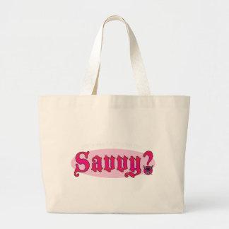 Savvy Jumbo Tote Bag