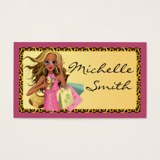 Savvy Shopper Personal Shopper Business Card